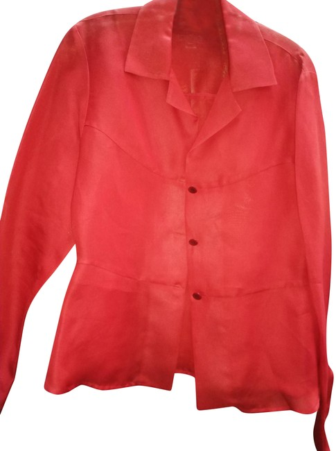 Item - Red M Blazer Size 10 (M)