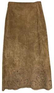 Siena Studio Suede Skirt Brown