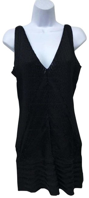 Item - Black Sleeveless M Short Night Out Dress Size 8 (M)