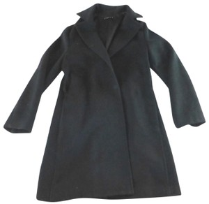 47af907311 Sisley Benetton Wrap Style Wool Made In Italy Trench Coat