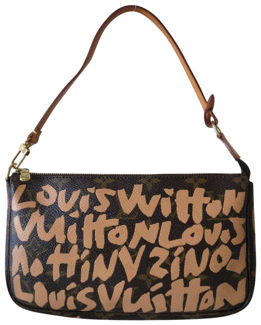 Item - Graffiti Accessories Pouch Stephen Sprouse Peach Leather Baguette