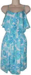 Lilly Pulitzer short dress Blue Lp For Target Sea Urchin For You on Tradesy