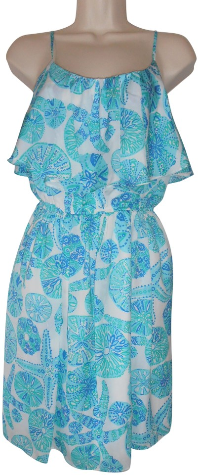 01809e321105e4 Lilly Pulitzer short dress Blue Lp For Target Sea Urchin For You on Tradesy  Image 0 ...