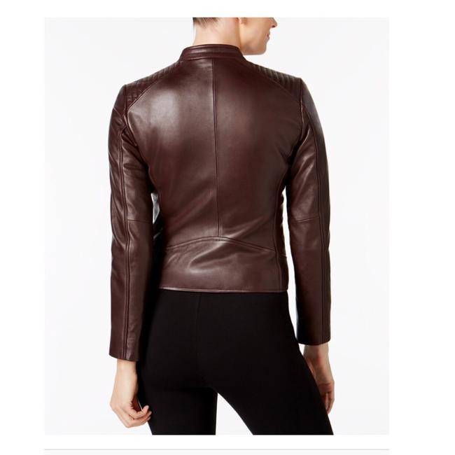 Marc New York Brown Leather Jacket Image 1