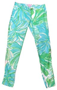 Lilly Pulitzer Relaxed Pants white/green