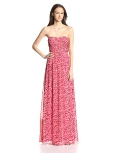Pink animal print Maxi Dress by Erin Fetherston