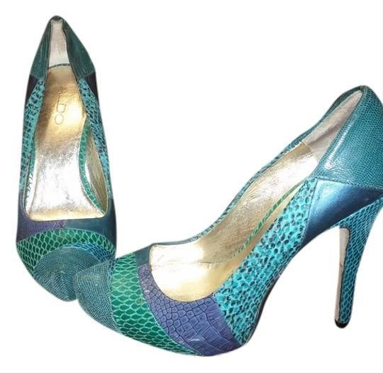 ALDO Blue/Green Multi Pumps