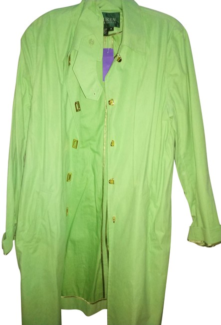 Item - Neon Green Bright with Golden Hardware Coat Size 10 (M)