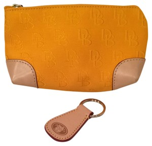 Dooney & Bourke Dooney & Bourke Yellow Cosmetic Bag