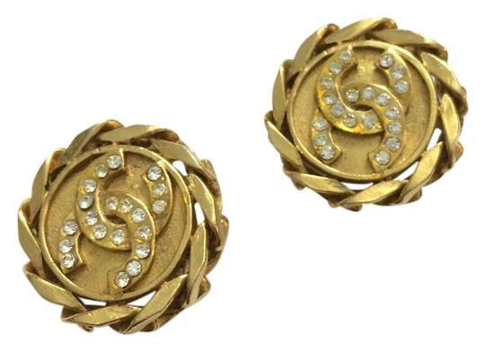 Preload https://item3.tradesy.com/images/chanel-gold-cc-chain-edge-with-crystals-clip-on-clip-on-earrings-2285232-0-0.jpg?width=440&height=440