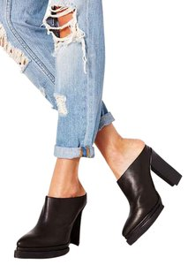 Jeffrey Campbell Brighton Black High Heel Mules