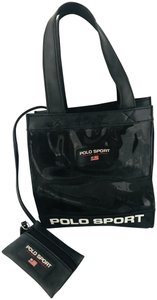 Polo Sport Vintage Vinyl Satchel in black