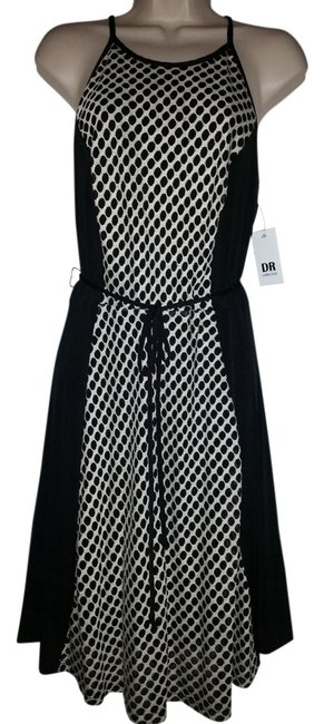 Preload https://item1.tradesy.com/images/dr-collection-dress-black-and-white-2285270-0-0.jpg?width=400&height=650