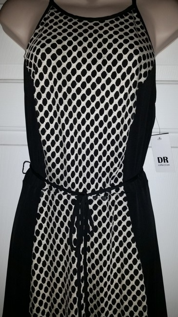 DR Collection short dress Black & White on Tradesy