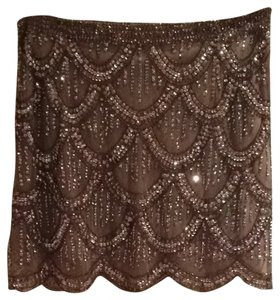 Arden B. Skirt Brown / Sequin