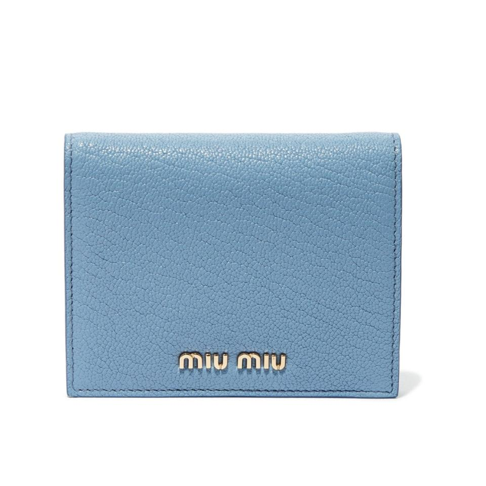 21cb25911473 Miu Miu Miu Miu small leather wallet Image 0 ...