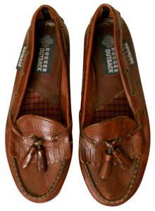 Outback Red Outback Leather Tassel Loafers Brown Flats