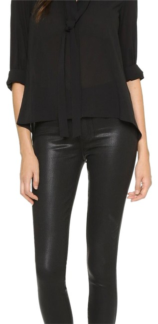 Item - Coated Margot Ankle Skinny Jeans Size 28 (4, S)