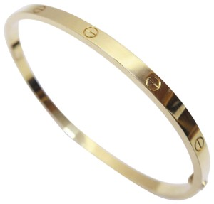 Cartier Cartier Yellow Gold Small Model Love Size 18 Bracelet