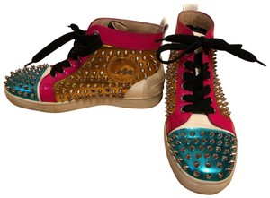 Christian Louboutin Sneakers High Top Colored Multi Athletic