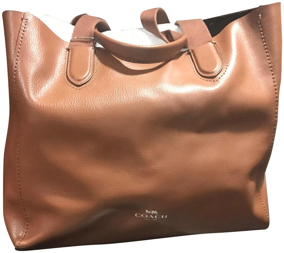 db88abbc27f3 Coach Derby New Large No B1732-f59818 Tote in Saddle Brown Image 0 ...