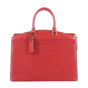 Louis Vuitton Riviera Epi Leather Tote in Red