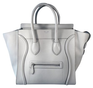 Céline Tote in White