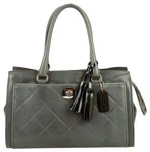 Coach Satchel in gray