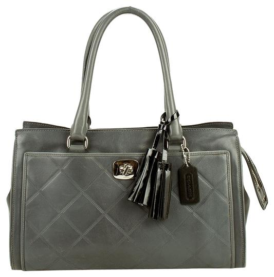 Preload https://img-static.tradesy.com/item/22854356/coach-chelsea-legacy-carryall-embossed-handbag-purse-gray-leather-satchel-0-2-540-540.jpg