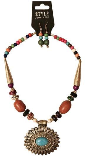 Other Ethnic Wooden Beads Necklace