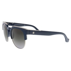 Balenciaga Balenciaga Navy/Silver Cat Eye Sunglasses