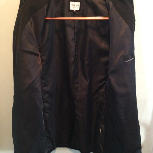 Armani Collezioni Black Men Car Size 42 Pea Coat