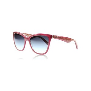 Dolce&Gabbana DG4193-27398G Women's Bordeaux Frame Grey Lens 56mm Sunglasses NWT
