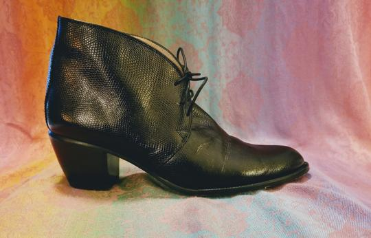 5yMedio Made In Spain Ankle Size 8.5 Anti-fatigue Heel black Boots