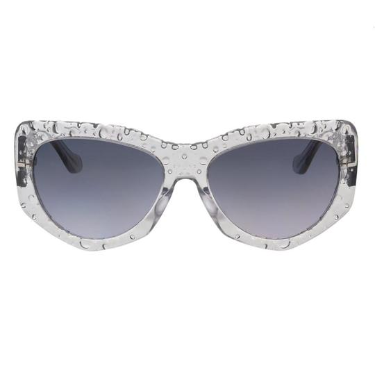 Balenciaga Balenciaga Gray Bubble Rectangle Sunglasses