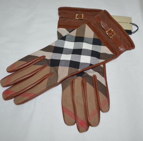 Burberry Burberry Bridle House Check Nicola Touch Gloves Size 7