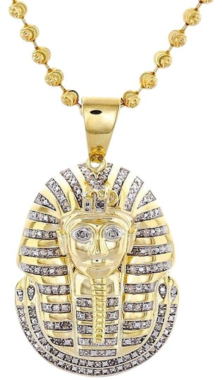 Preload https://img-static.tradesy.com/item/22854765/jewelry-for-less-yellow-diamond-king-tut-pendant-925-sterling-silver-with-moon-cut-chain-charm-0-1-540-540.jpg