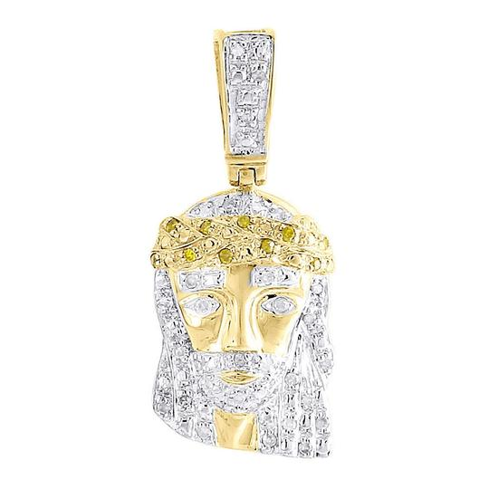 Preload https://item4.tradesy.com/images/jewelry-for-less-yellow-gold-diamond-crying-jesus-face-pendant-10k-016-ct-charm-22854778-0-0.jpg?width=440&height=440