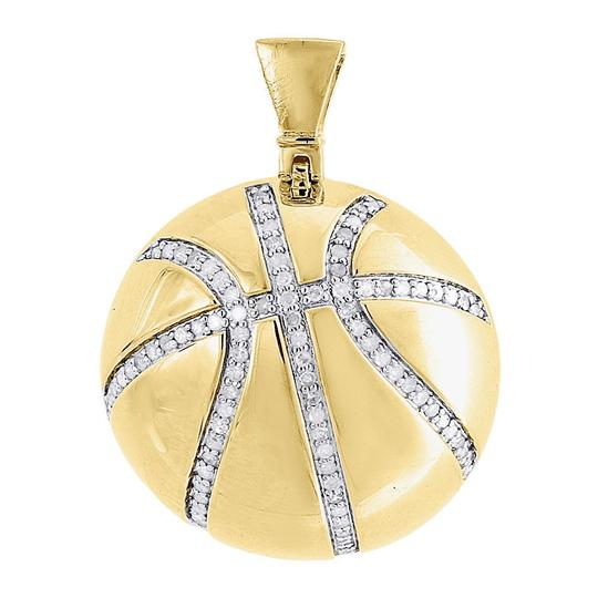 Preload https://item5.tradesy.com/images/jewelry-for-less-yellow-diamond-basketball-pendant-sterling-silver-sports-055-ct-charm-22854789-0-0.jpg?width=440&height=440