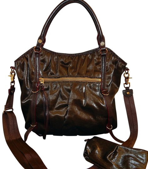 Preload https://img-static.tradesy.com/item/22854848/mz-wallace-bedford-bianca-leather-shoulder-crossbody-brown-nylon-satchel-0-1-540-540.jpg