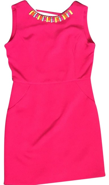 Preload https://item2.tradesy.com/images/gibson-and-latimer-pink-short-cocktail-dress-size-8-m-22854856-0-1.jpg?width=400&height=650