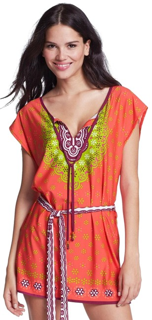 Item - Coral Seychelles Cover-up/Sarong Size 12 (L)