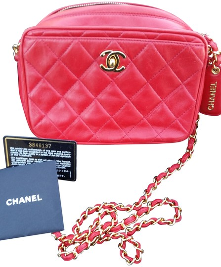 Preload https://item5.tradesy.com/images/chanel-camera-red-lambskin-leather-cross-body-bag-22854879-0-1.jpg?width=440&height=440