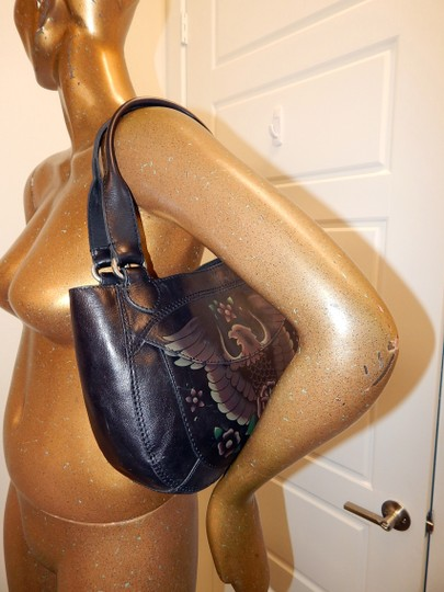 Lucky Brand Boho Leather Shoulder Bag