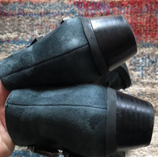 Vince Camuto blue grey Boots