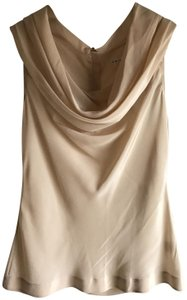Trina Turk Silk Top Cream