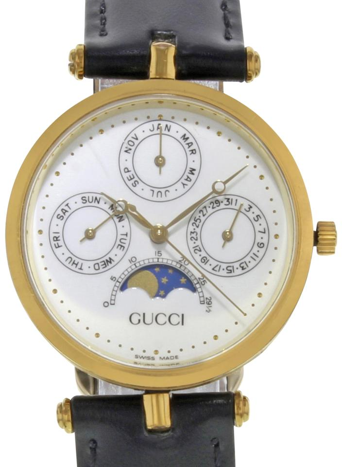 dd4ae47deb9 Gucci Moon Phase Pointer-triple-calendar Vintage (18250) Watch - Tradesy