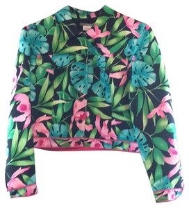 Maggy London Floral Blazer