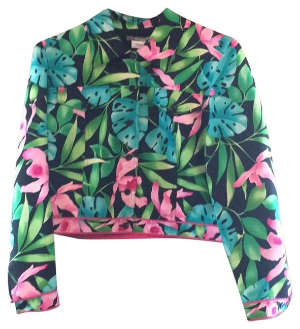 Preload https://item3.tradesy.com/images/maggy-london-floral-blazer-size-petite-12-l-22855022-0-1.jpg?width=400&height=650