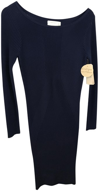 Preload https://img-static.tradesy.com/item/22855066/nicole-miller-navy-long-sleeve-bodycon-mid-length-night-out-dress-size-4-s-0-1-650-650.jpg